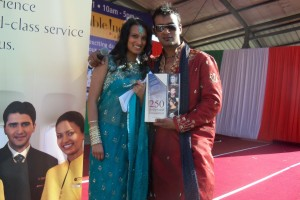 DJ Zuby and Miss India South Africa, Bonnita Samp