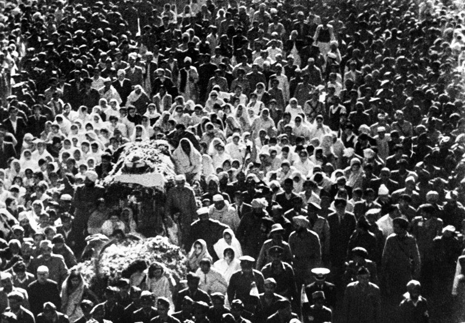 The Last Journey of Mahatma Gandhi 1948