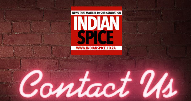 Indian Spice News Contact Us