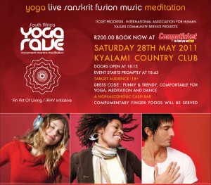 art of living yoga meditation rave