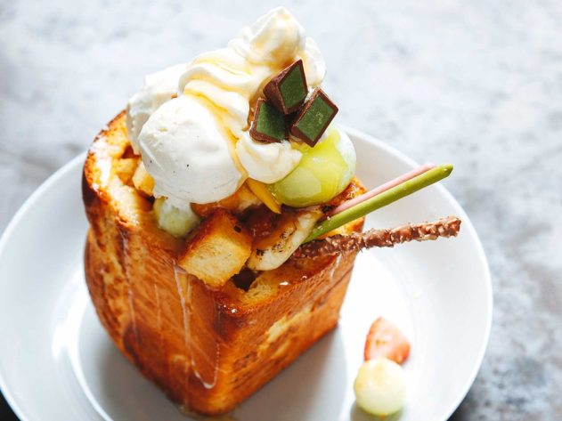 Shibuya Honey Toast recipe