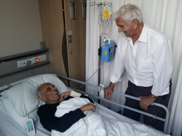 Ahmed Kathrada In Hospital