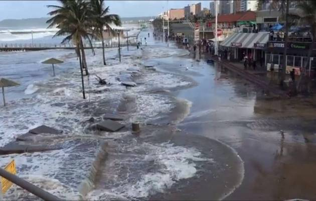 durban beaches tsunami