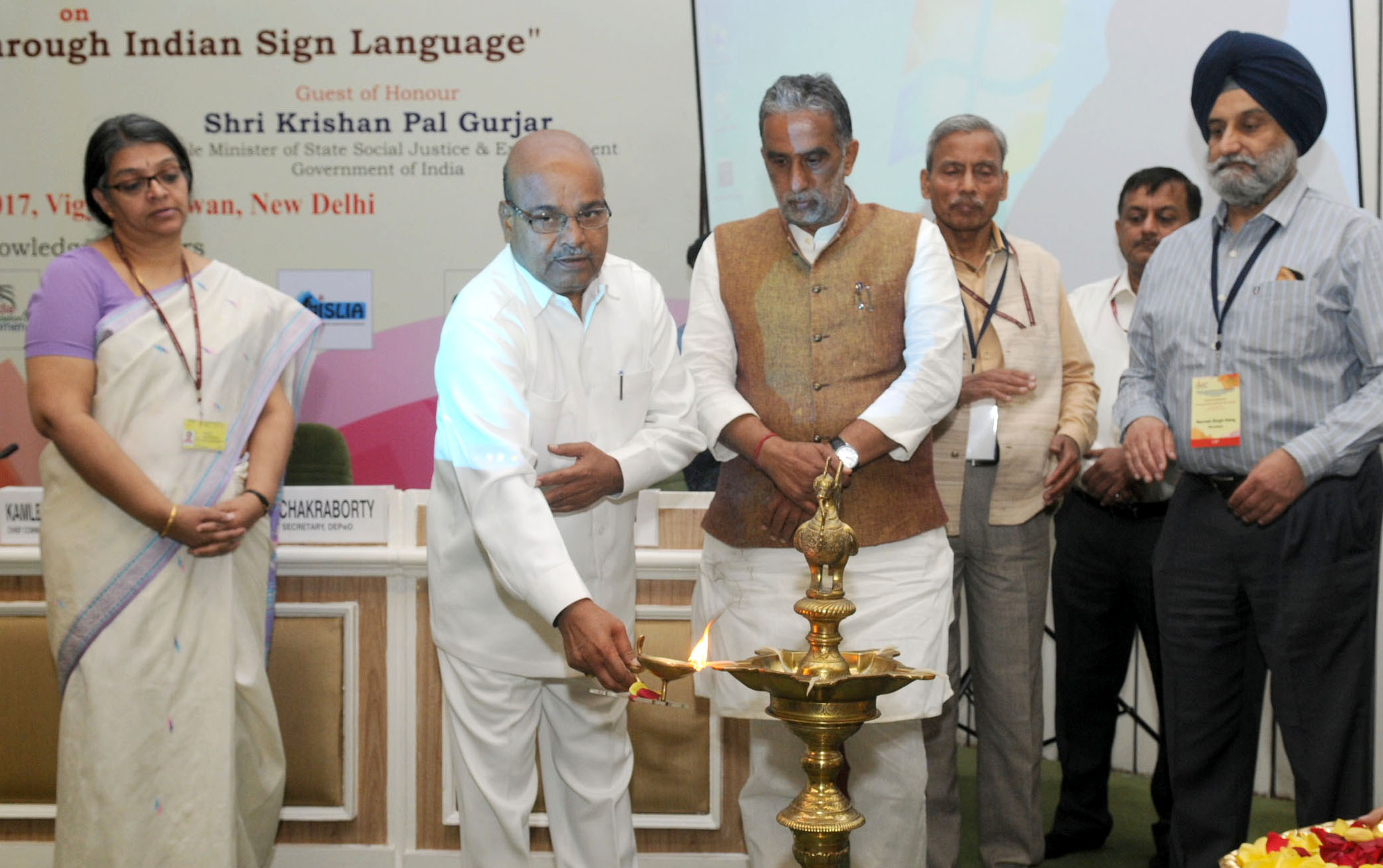 Indian Sign Language Conference