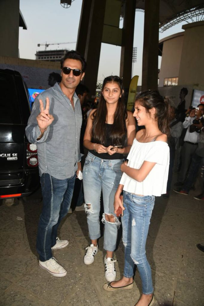 Arjun Rampal is ready to rock with his daughters. (Photo: Yogen Shah)