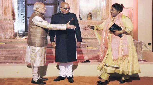 Jacob Zuma Bollywood