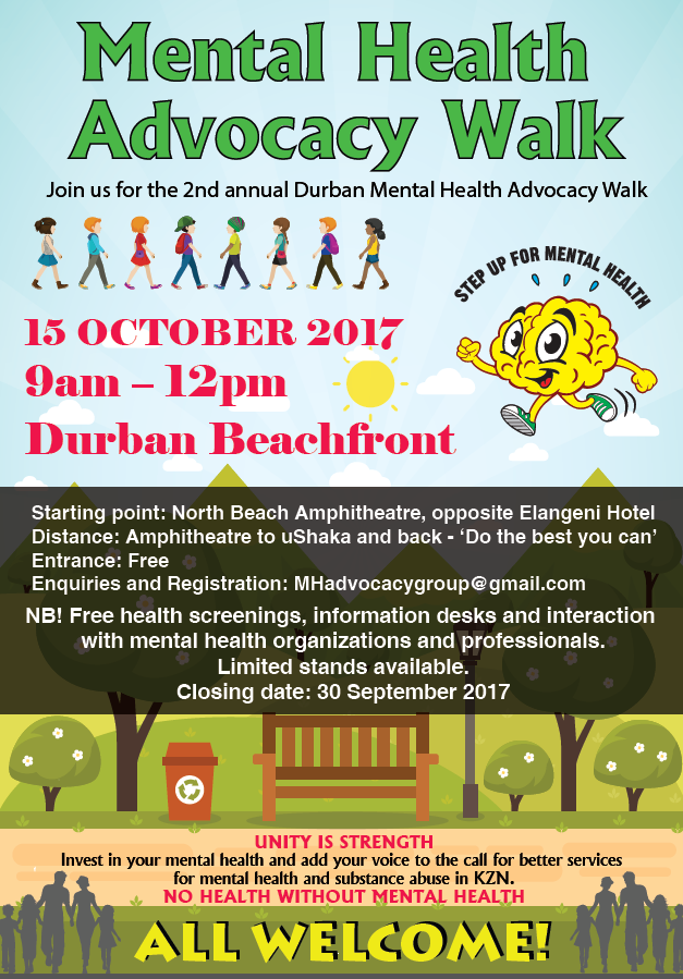 mental health walk durban