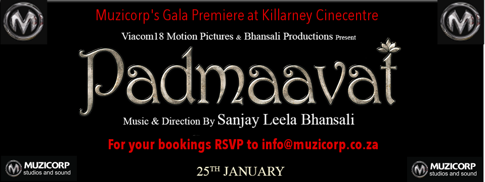 Padmaavat movie south africa
