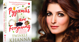 Twinkle Khanna book Pyjamas are forgiving