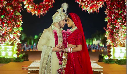Nick Jonas Priyanka Chopra wedding photos