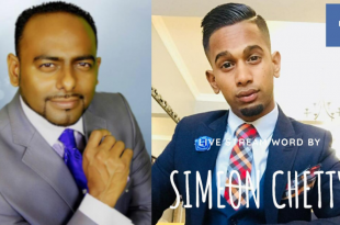 Simeon Bradley Chetty and Reverend Llewellyn Joseph