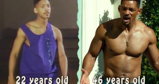 Will Smith body transformation
